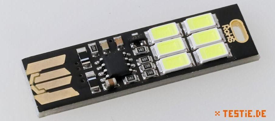 Kebidu 6-fach USB Lampe Platine