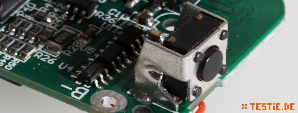 Powerbank Modul: Schalter