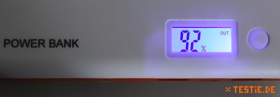 powerbank test led LCD Anzeige