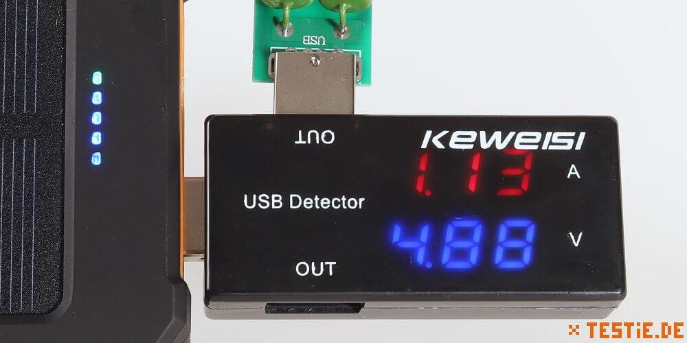 keweisi USB-Detector mit Lastwiderstand im Test
